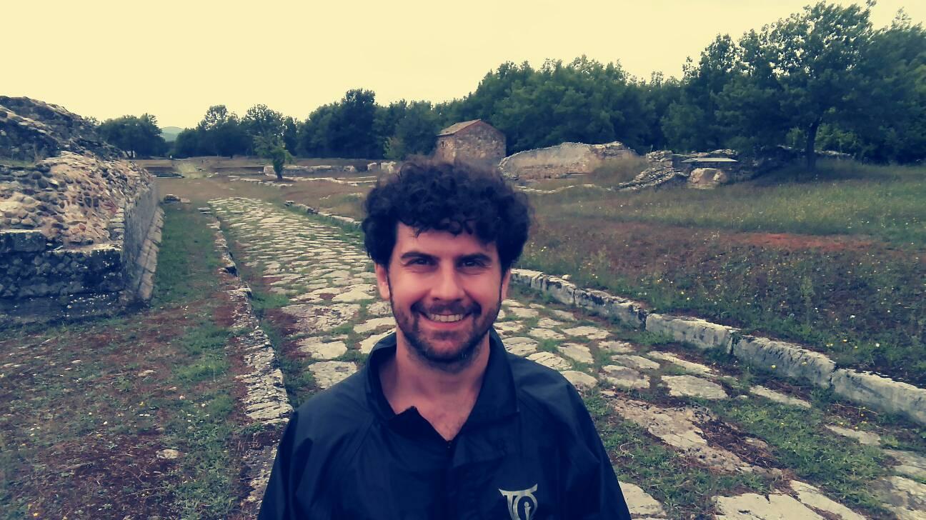 grumentum area archeologica